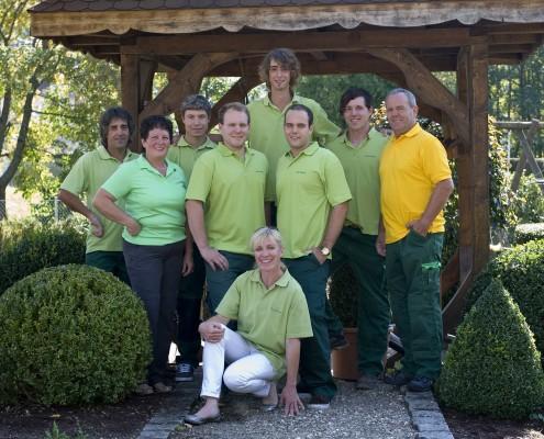Das Team von Hagg-Moser Garten- und Landschaftsbau