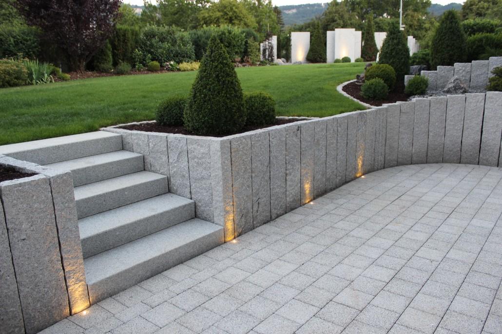 Garten mit granit gestalten for Gartengestaltung granit