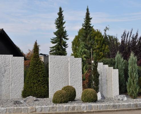 Gartenkunst aus Stein